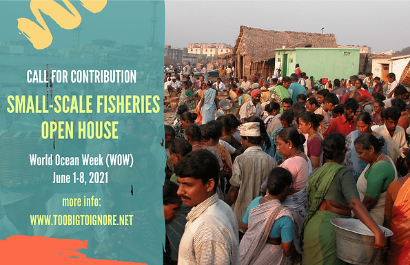 Submit a session for the 'Small-Scale Fisheries Open House' at the 2021 World Ocean Week
