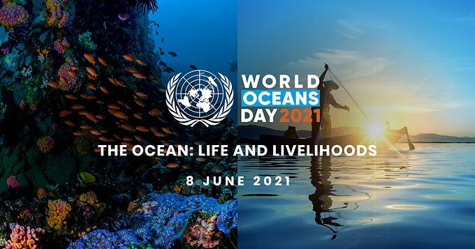 World Ocean's Week Pop-Up