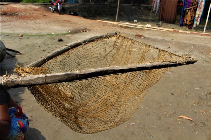 Crab fishing gear (Atol). Sathkira, Bangladesh. ©Ruyel, 2019