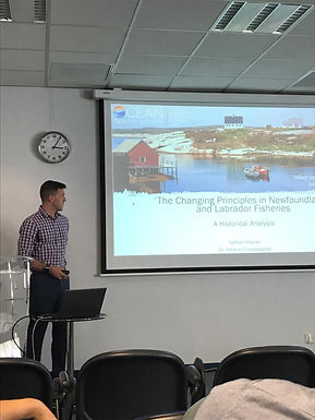 Research Assistant Nathan Stanley Reflects on his Experience at IMBER OSC 2019