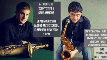 DMITRY BAEVSKY & ERIC ALEXANDER - Tribute to Sonny Stitt & Eric Alexander