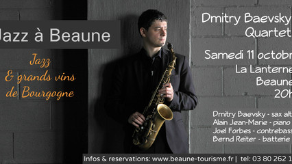 DMITRY BAEVSKY @ JAZZ A BEAUNE - October 11th