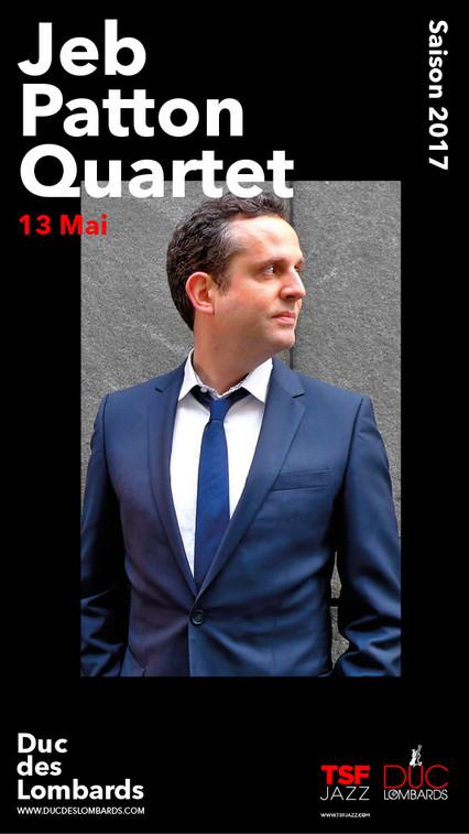 Jeb Patton Quartet au Duc des Lombards à Paris 13 mai 2017