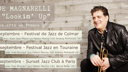JOE MAGNARELLI - TOUR IN FRANCE