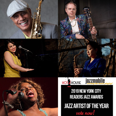 Champian Fulton, nominee for Best Jazz Artist of the Year for the 2019 NYC Readers Jazz Awards