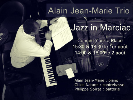 ALAIN JEAN-MARIE @ JAZZ IN MARCIAC,  FRANCE