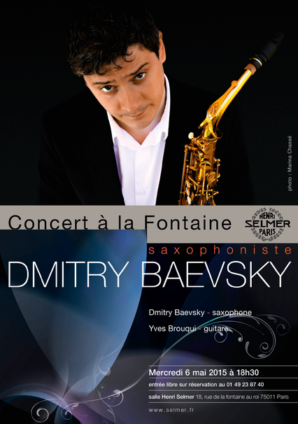 DMITRY BAEVSKY - Showcase @ Selmer Paris