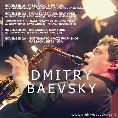 Dmitry Baevsky - concerts in USA