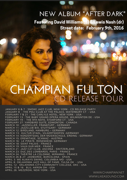 "CHAMPIAN FULTON ""AFTER DARK"" TOUR"