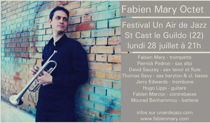 FABIEN MARY OCTET @ UN AIR DE JAZZ FESTIVAL, BRITTANY,  FRANCE
