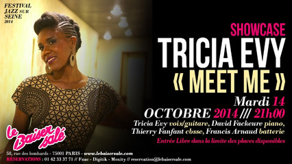 TRICIA EVY - SHOWCASE IN PARIS