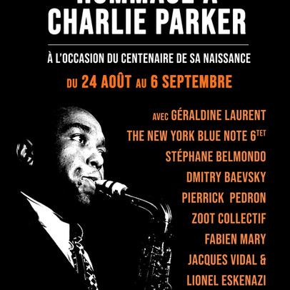 Celebrating Charlie Parker •Dmitry Baevsky at Sunside in Paris, August 26th and 27th