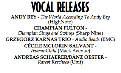 """CHAMPIAN SINGS AND SWINGS"" NAMED AMONG THE 5 BEST VOCAL RELEASES 2013"
