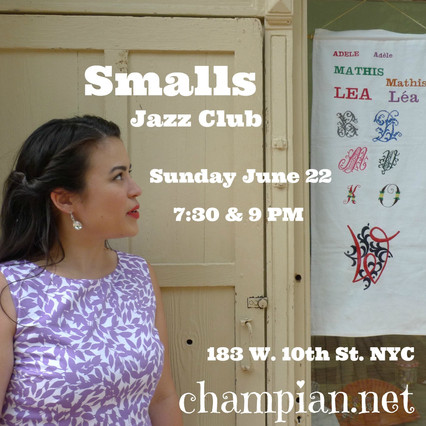 CHAMPIAN FULTON @ SMALLS JAZZ CLUB, NYC, on June 22nd