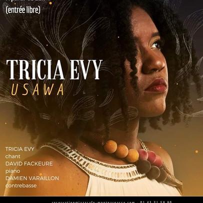 TRICIA EVY en concert à Paris le 4 juin 2019