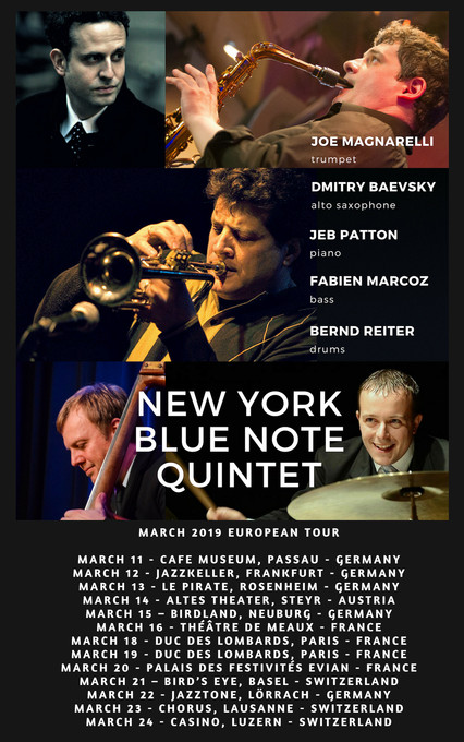 NEW YORK BLUE NOTE QUINTET ON TOUR!