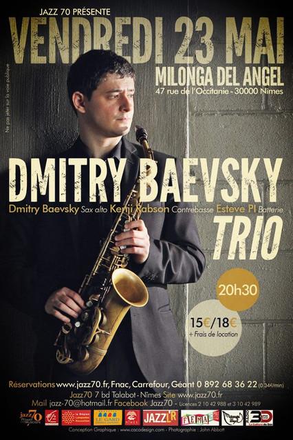DMITRY BAEVSKY @ JAZZ 70, NIMES