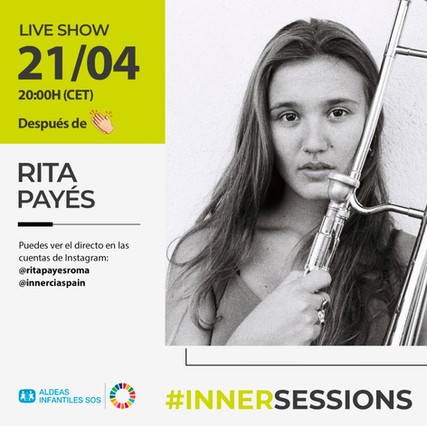 RITA PAYES - live concert on April 21st!