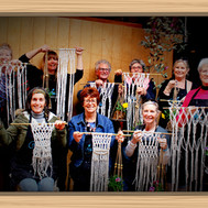 macrame workshop The Shed Collective