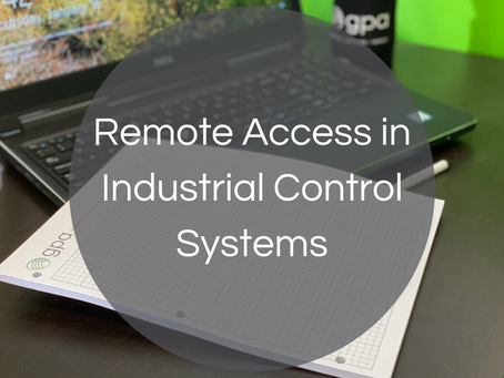 Remote Access in Industrial Control Systems