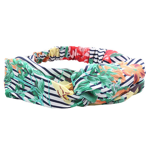 Striped Flower haarband