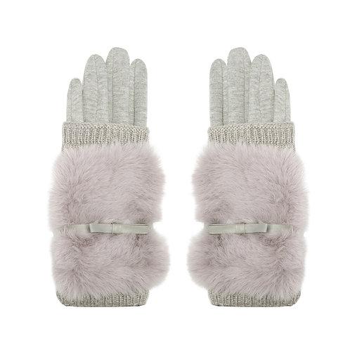 Furry Knit handschoenen