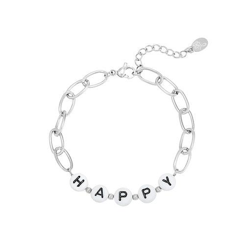 Beads Happy armband