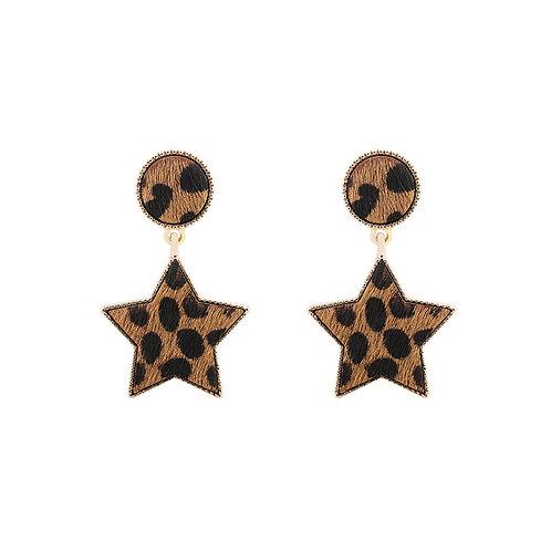 Fur my Star oorbellen
