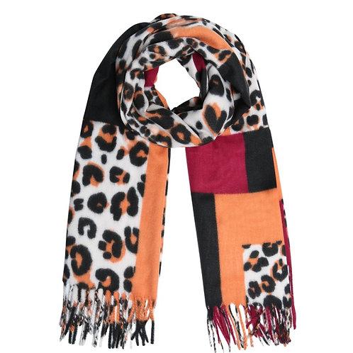 Soft Leopard sjaal