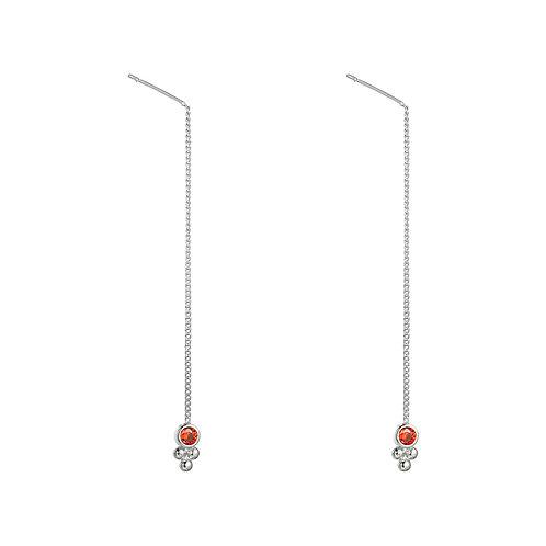 Flora Chain oorbellen
