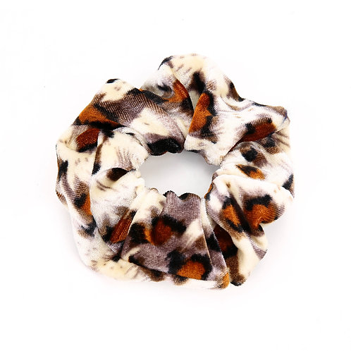 Faded Leopard scrunchie