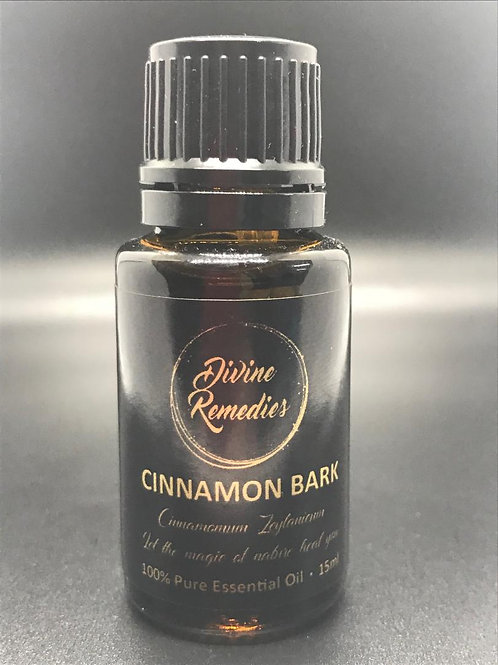 CINNAMON BARK (Cinnamomum Zeylanicum) 15ml