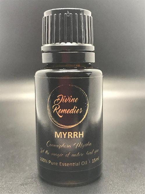 MYRRH (Commiphora Myrrh) Organic 15ml