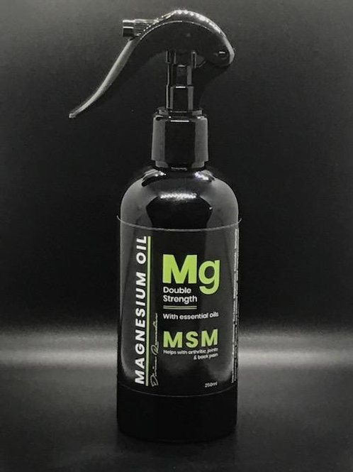 Magnesium Oil MSM Spray
