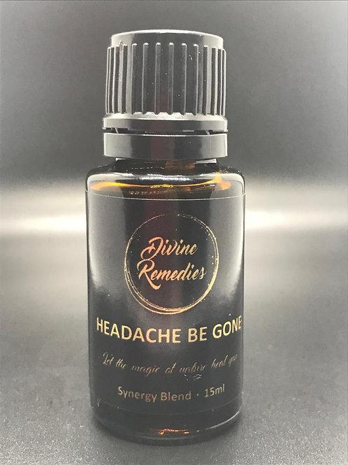 HEADACHE BE GONE 15ml Blend