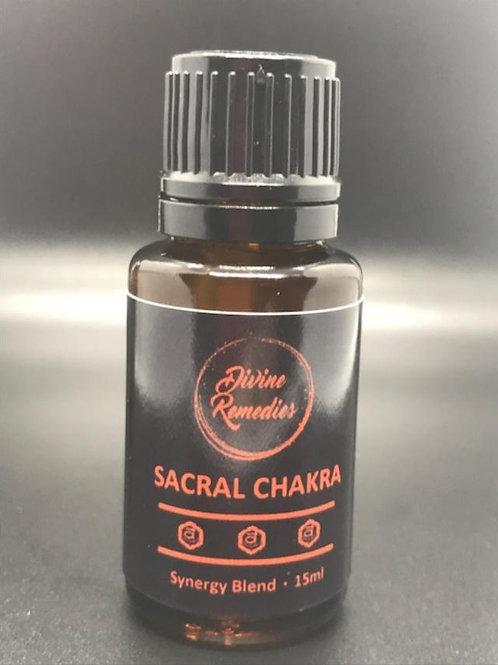 SACRAL CHAKRA 15ml Blend