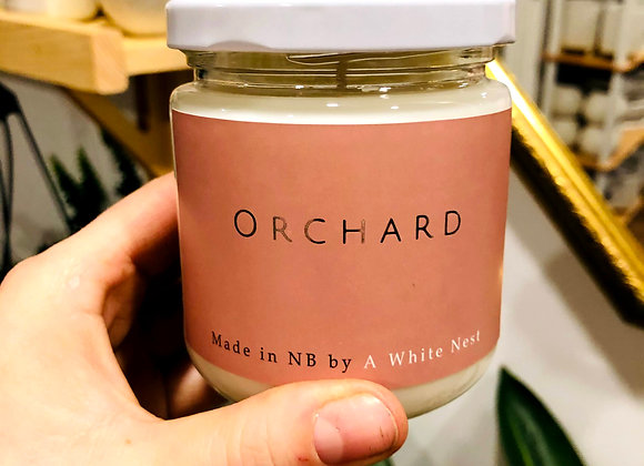 White Nest Candle - Orchard
