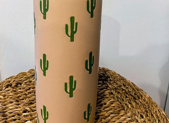 Pink Cactus Vase