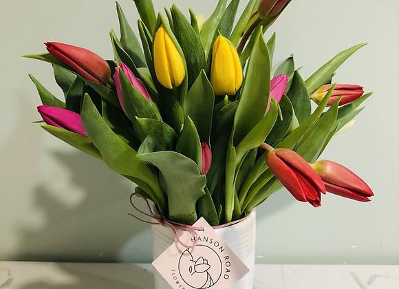 2-Dozen-Tulips in Monaco Vase
