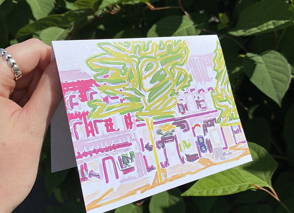 Greeting Card by Bird Girl Arts