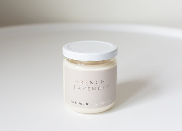 A White Nest Candle - French Lavender