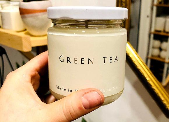 White Nest Candle - Green Tea