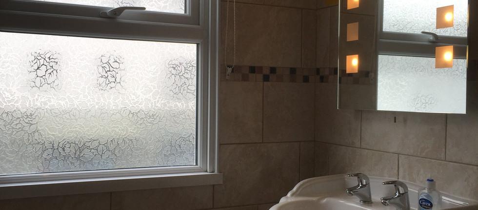 Bathroom 1 Mirror & Sink