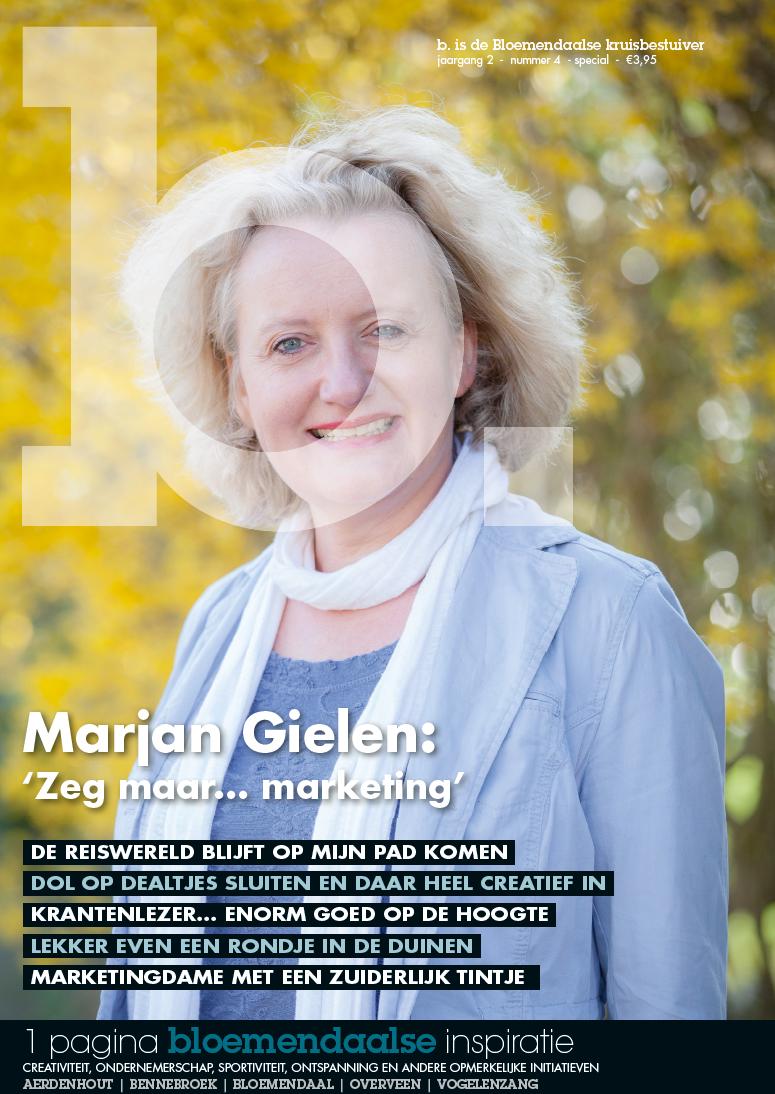 Speciale cover b. Magazine voor mijn afscheid
