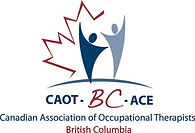 CAOT-BC Canadian Association of Occupational Therapists logo for British Columbia
