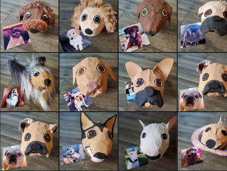 Vancouver artist recreates West End dogs as adorable piñatas for latest project