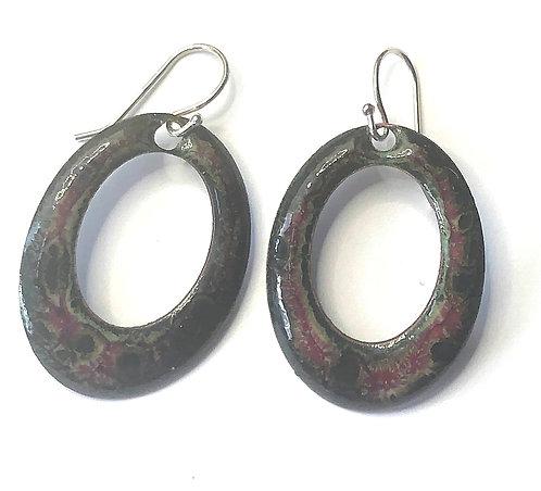 ERE 316 Earrings Enamel