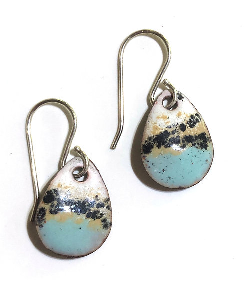ERE 335 Enamel Earrings