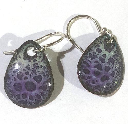 ERE 331 Enamel Earrings