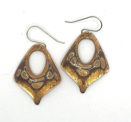 ERE 306 Enamel Earrings